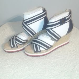 Shoes - Tommy Hilfiger Wedged Sandals